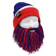 Buffalo Bills Beard Mask NFL Yellow Black Hat Bills Beanie and Football Beard