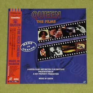 QUEEN Made In Heaven The Films - RARE 1997 JAPAN LASERDISC + OBI (TOLW-3252)