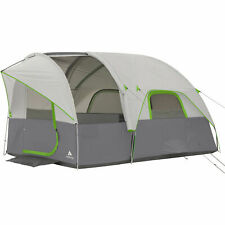 Ozark Trail 12 X 8 Modified Dome Tunnel Tent Sleeps 6 Hiking Outdoor Camping