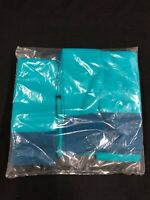 (6 PACK) MIAMI DOLPHINS TEAM ISSUED BRAND NEW NAVY/AQUA/ HALF SOCKS SIZE 15'in