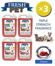 Fresh Pet Niche Chien Désinfectant Triple Force Parfum 4x5L Cerise