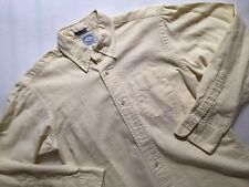 BROOKS BROTHERS Boy's sz 14 yellow L/S button front shirt