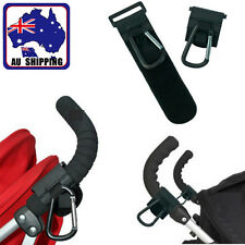 Leather Metal Hook Buggy Pram Pushchair Stroller Shopping Bag Clip BHAH11235