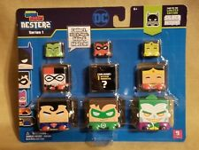 DC COMICS KAWAII CUBES NESTERS SERIES 1- 9 PACK- 1 EXCLUSIVE! MYSTERY CHARACTER