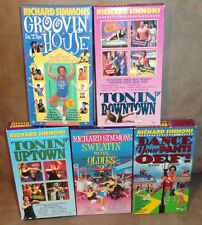Richard Simmons arobics and body workouts Vhs Tapes
