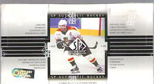 1999-00 SP AUTHENTIC HOCKEY HOBBY BOX 24 PACKS
