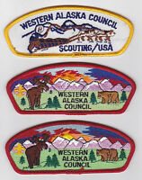 USA BOY SCOUTS OF AMERICA - BSA WESTERN ALASKA SCOUT COUNCIL SHOULDER PATCH CSP