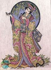 Feng Shui Oriental Grace Counted Cross Stitch Kit Design Works