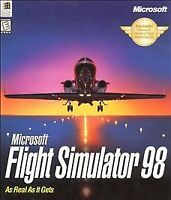 Microsoft Flight Simulator 98 'As Real As It Gets' (PC, 1997) PC VG Condition