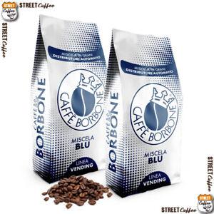 6 kg 6 Buste Caffè Borbone Grani Miscela Blu Vending Originale in Chicchi