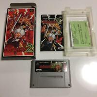 Go Go Ackman2 SuperFamicom SFC SNES Banpresto Used Japan Boxed Tested Working