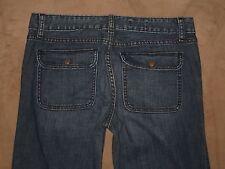 GAP 1969 Size 27 / 4 Always Skinny Flap Pocket Dark Blue Stretch Denim Womens