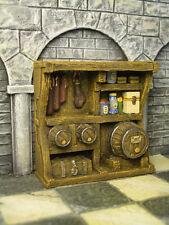 Pantry Shelf Thomarillion Unpainted Terrain D&D Dwarven Forge