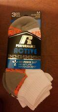 Russell performance active boys ankle socks 3 pak medium shoe size 9 - 2.5