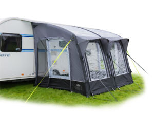 Royal Armscote Air 260 Inflatable Caravan Porch Awning in Grey CLEARENCE NEW