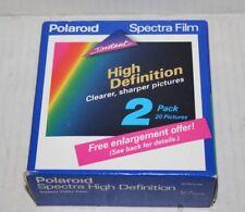 Polaroid Instant Camera Spectra HD Film Instant Film NEW NOS Vintage 01 / 1993