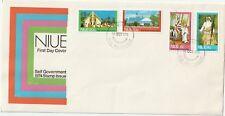 1974 Niue FDC cover Self Government