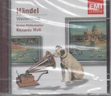 Händel Wassermusik Klassik CD NEU Berliner Philharmoniker Riccardo Muti