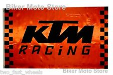 FREE SHIPPING -- NEW --  Motorcycle Biker Chopper Flag Banner Poster Moto shirt