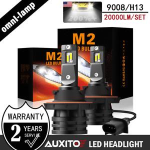 H13 9008 High/Low Beam LED Headlight 6000K for 2004-2014 Ford F-150 Super White