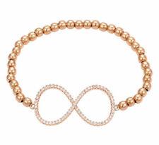 Modeschmuck-Armbänder im Gummiarmband-Stil aus Rosegold für Damen