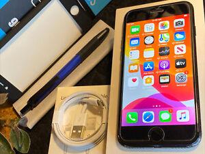 Apple iPhone 7 (128gb) GSM World-Unlocked (A1778) black/ MiNT {iOS13}86% iSSue