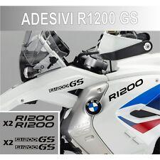 KIT ADESIVI BMW R 1200 GS STICKER BICLORE R1200GS ADESIVO NERO CARENA