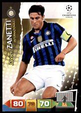 Panini Champions League 2011-2012 Adrenalyn XL Javier Zanetti FC Inter Milan