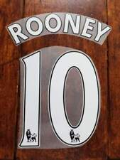 2016/17 Premier League Manchester United ROONEY HOME & AWAY Name set