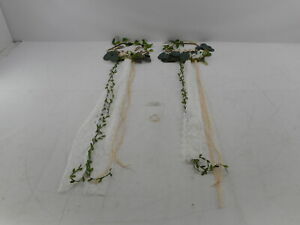 Lings Moment Floral Mr Mrs Sign Decor for Wedding, Organic Eucalyptus