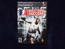 World Tour Soccer 2006 PS2 Playstation 2 Brand New Factory Sealed Y fold