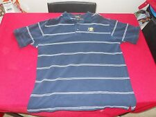 INDIANA PACERS NAVY HEAVYWEIGHT 100% COTTON GOLF POLO ADULT XL FREE SHIPPING