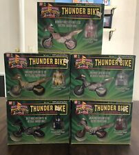 1994 Ban Dai Mighty Morphin Power Rangers Thunder Bike Complete Set of 5