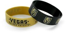 VEGAS GOLDEN KNIGHTS - SILICONE BRACELETS - 2 PACK - BRAND NEW - NHL-BC-207-34