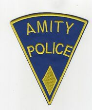 Jaws Movie Amity Police Uniform Yellow Diamond Patch 5 inches tall