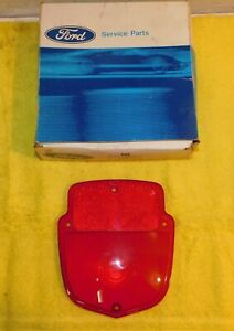 1957-1966 Ford F100 F250 Truck NOS STEPSIDE BED REAR TAIL LIGHT LAMP LENS Shield