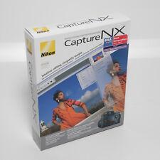 Nikon Capture NX Bildbearbeitung Software Photo Editing Software Neu OVP