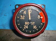 ww2 raf spitfire +32 psi boost gaugr dated 1944 unused