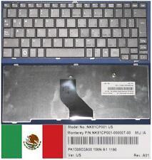 Qwerty Keyboard Latino TOSHIBA Satellite Mini NB200 NB201NK81CP001 PK1308O2A00