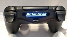 PlayStation 4 PS4 Controller Metal Gear Solid x 2 pack Led Light Bar Decal !!!