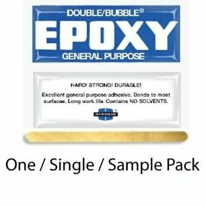 One (1) Packet Hardman Golf Shaft Epoxy Adhesive-For assembly of 1 to 4 clubs