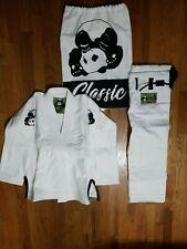 Inverted Gear Panda Classic Jiu Jitsu Gi White Size A00