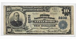 1902-TEN DOLLAR  NATIONAL CURRENCY