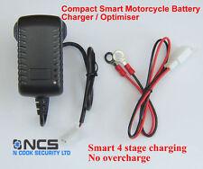 NCS MOTORCYCLE SPECIFIC SMART 12V ACID BATTERY CHARGER / OPTIMISER / MAXIMISER