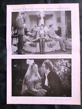 Tofano,Besozzi,Denis,Viarisio,Norris,Doro + Terme di Caracalla Stampa del 1937