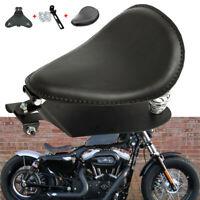 Solositz Sattel Sitz Federn Halteschiene Grundplatte Für Harley Chopper Bobber