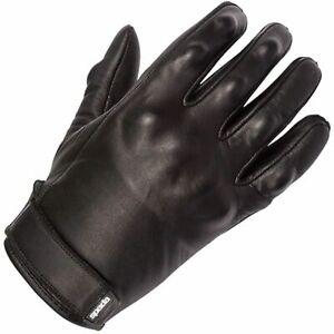 Spada Wyatt Ladies Leather Motorcycle Bike Summer Touring PU Gloves - Black