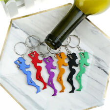 Sexy Beauty Shape Aluminum Alloy Bottle Opener Beer Keychain Portable Bars Tool,