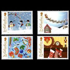 Gibraltar 2010 - Christmas - Sc 1253/56 MNH