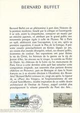 DOC. PHILATÉLIQUE - BERNARD BUFFET - 1978 YT 1994